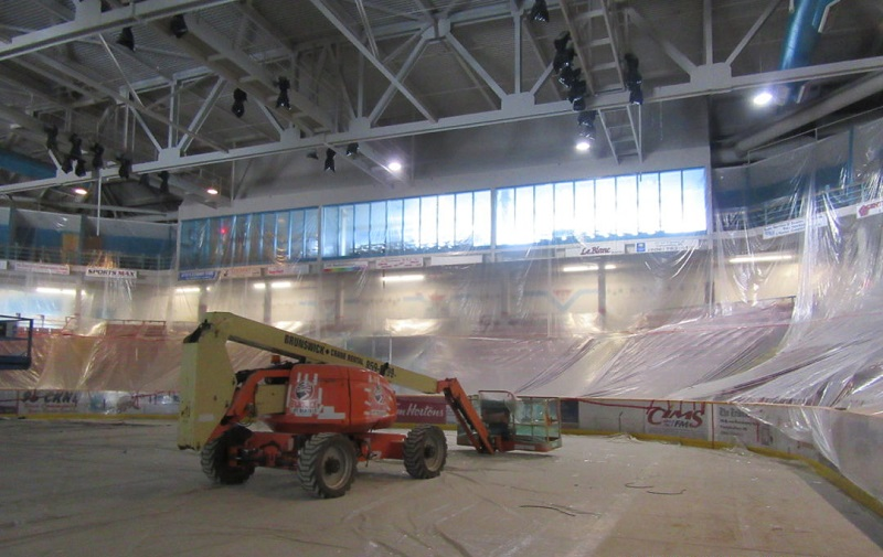 Campellton Arena - LDG Sales project
