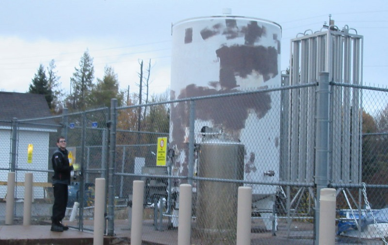 Tank Project – Air Liquide, Amherst NS
