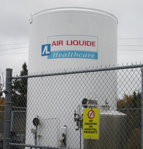 Tank Project – Air Liquide, Amherst, NS
