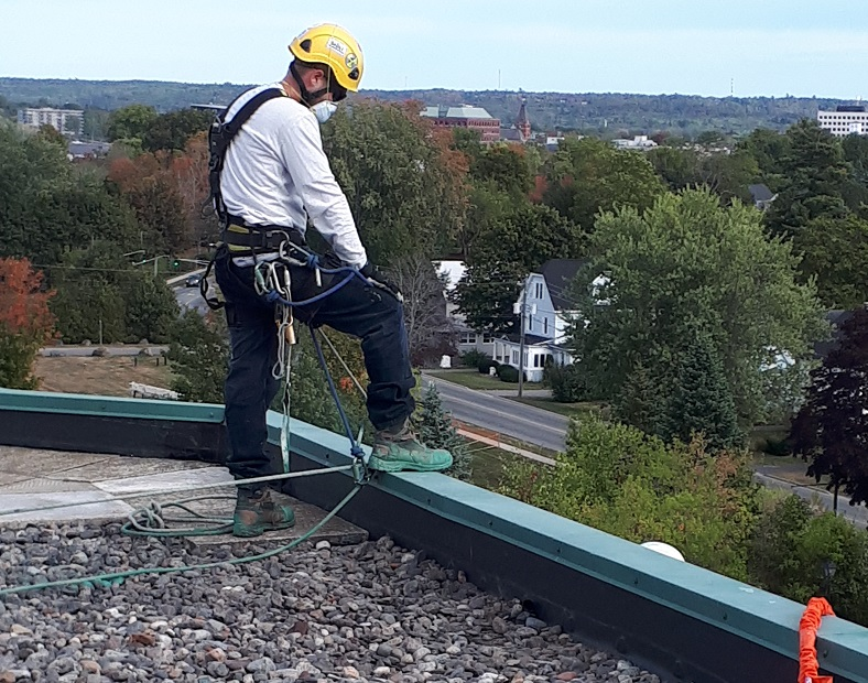 Delta / Marriott Fredericton – Roofing Project