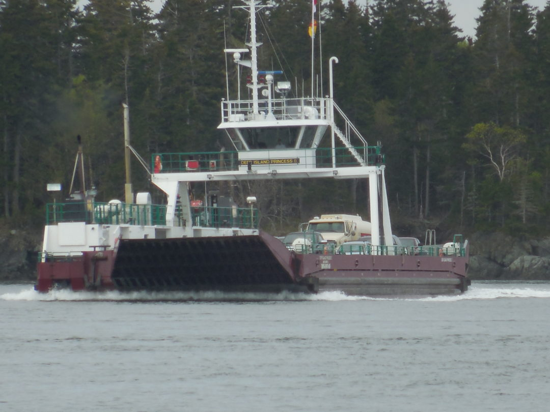 Marine Projects - Deer Island ferry - LDG Paint