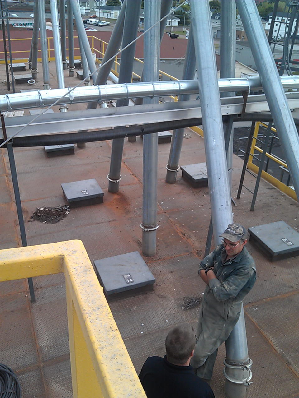 Roofing Projects - Coop Feedmill - LDG Sales