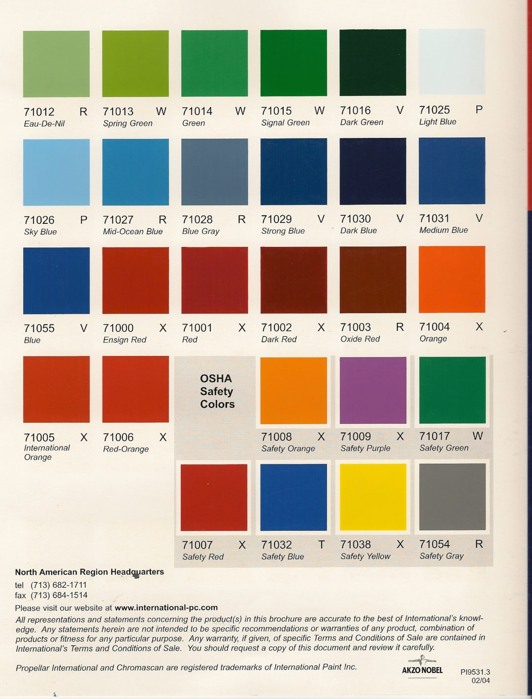 Colour Card Structural Steel - LDG Sales