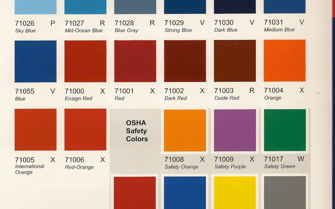 Color Card – Structural Steel